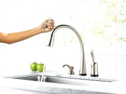 delta touch2o kitchen faucet touch on kitchen faucet 40konline