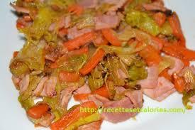 cuisine peu calorique poireaux confits et carottes au jambon blanc