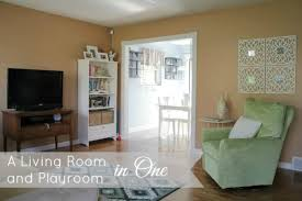 Living Room Playroom | how to setup a living room and playroom in one charmingly modern