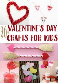 20 valentine u0027s day crafts for kids sunny sweet days