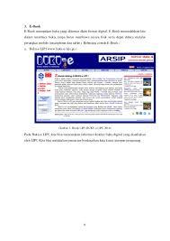 daftar pustaka merupakan format dari materi pelatihan penelusuran sumber pustaka secara online dan penulis