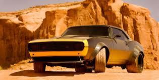 1977 camaro bumblebee bumblebee becomes 1967 camaro in transformers 4 autoevolution