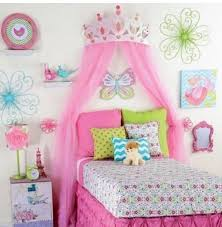 girls bed crown princess room decor for girls large pink metal crown bedroom 3d