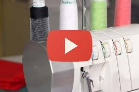 What Is A Blind Hem Beginner U0027s Guide To Serging Ep 7 Rolled Edge Sewing Parts