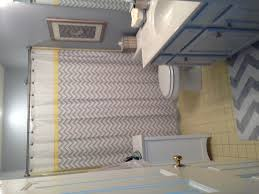 Grey And Yellow Bathroom by Updated 1986 Yellow Bathroom Tile Using Lazy Grey Paint By S W And