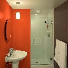 small bathroom w two color walls better bathroom ideas