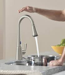 touch activated kitchen faucet touch activated kitchen faucet