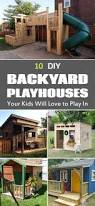 Backyard Clubhouse Plans by 12 Free Playhouse Plans You Can Build Perfect For Any Diyer Who