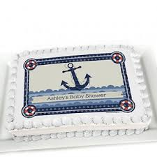 baby shower cake decorations nautical baby shower food ideas shower that baby
