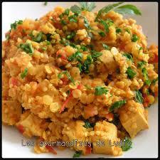 comment cuisiner lentilles les gourmandises de lydie lentilles corail quinoa épicés au tofu