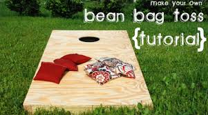 bean bag toss game plans video how to build a bean bag toss sew