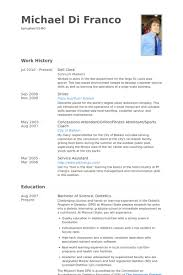 sample resume for bakery job deli clerk resume resume templates