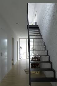 Staircase Design Ideas by Interior Indoor Black Wooden Staircase In The Corridor Idea
