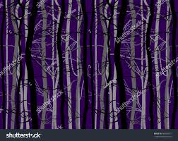 halloween background colors scary trees branches halloween background set stock vector