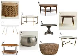 Simple Home Design Coffee Tables Simple Clove Wh White Round Coffee Table Tables