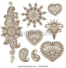 henna floral ornamental tattoo design photo 2 tattoo