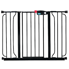 Extra Wide Pressure Fit Safety Gate Regalo 29 52 Inch Extra Wide Safety Gate Black Toys