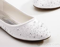 ballerine blanche mariage chaussures ballerine de mariage soirée perlées formidables