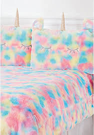Unicorn Bed Set Tween Bedding Comforter Sheet Sets Pillows Justice