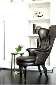 Wingback Chair Ottoman Design Ideas Leather Wingback Chair With Ottoman Design Ideas 73 In
