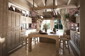 Kitchen Beautiful Rustic Kitchen Ideas For Decorating With Light