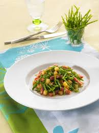 salicorne cuisine salade de salicornes au balsamique la breizh salicorne