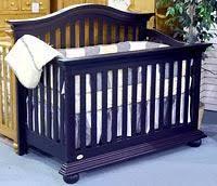 Munire Convertible Crib Majestic Toddler Guard Rail In Walnut By Munire Furniture Bristol