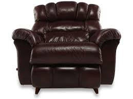 Matthew Brothers Furniture Store by La Z Boy Crandell Bordeaux Leather Recliner Mathis Brothers