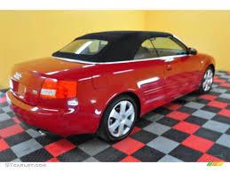 convertible audi red 2004 brilliant red audi a4 3 0 quattro cabriolet 21631130 photo