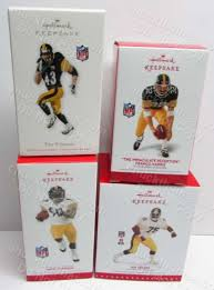 steelers figures lineups bobbleheads hallmark ornaments