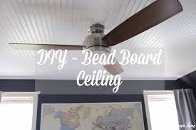 diy bead board ceiling lehman lane