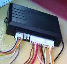 memasang remote central lock alarm mazda 323 interplay