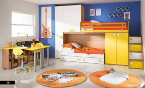 Childrens Bedroom Armoire Bedroom Round Amber Fabric Area Rug White Modern Wall Bed White