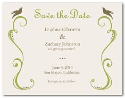 save the date templates printable vintage save the date template