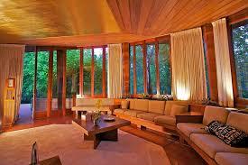 frank lloyd wright living room public can tour frank lloyd wright house in orinda sfgate