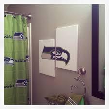 Bathroom Art Ideas by Seahawks Art Kara U0027s Crafts Pinterest Seahawks Seattle And