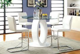 white pub table set white pub table counter height set ana cvid