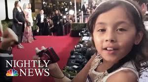 Hernandez Brothers Carpet by Inspiring America 8 Year Old Cancer Survivor Charms Golden Globes