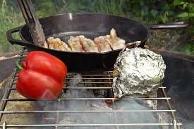Cooking Over Fire Pit Grill - over an open fire chowhound