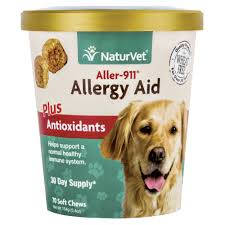 naturvet aller 911 allergy aid dog soft chews petco