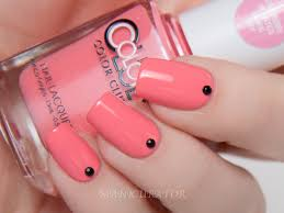 color club love tahiry scented collection wavy simple nail art