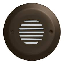 louvered step light cover round mini led step light with angled louver elst8530 elst8540