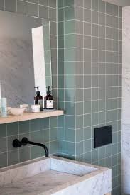 Green Tile Bathroom Ideas by Best 25 Green Tiles Ideas On Pinterest Green Kitchen Tile