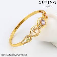 gold bangles bracelet images 51565 single bangle designs multicolor colorful zirconia gold jpg