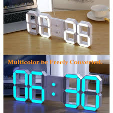 Atomic Home Decor by Articles With Led Digital Wall Clock Online Tag Led Atomic Wall