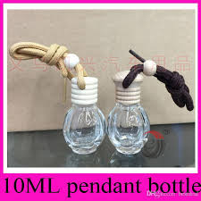 10ml car ornaments perfume bottle pendant pumpkin flat high