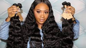 body wave vs loose wave hair extension ali grace review series unboxing brazilian loose wave and body