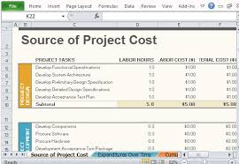 Tracking Project Costs Template Excel Free Project Budget Template For Excel 2013