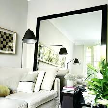 large wall mirrors for living room big mirror for living room mirror design