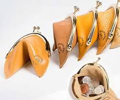 fortune cookie ornament cookie purse
